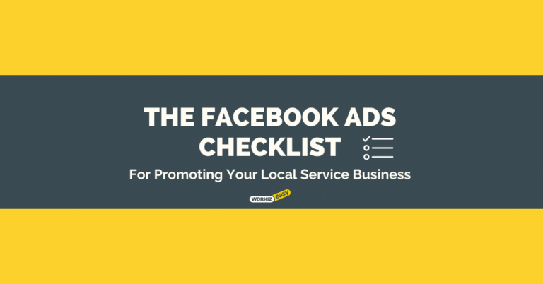 The Facebook Ads Checklist For Your Local Service Business