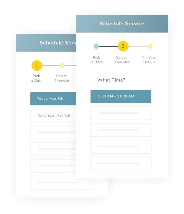 booking jobs online