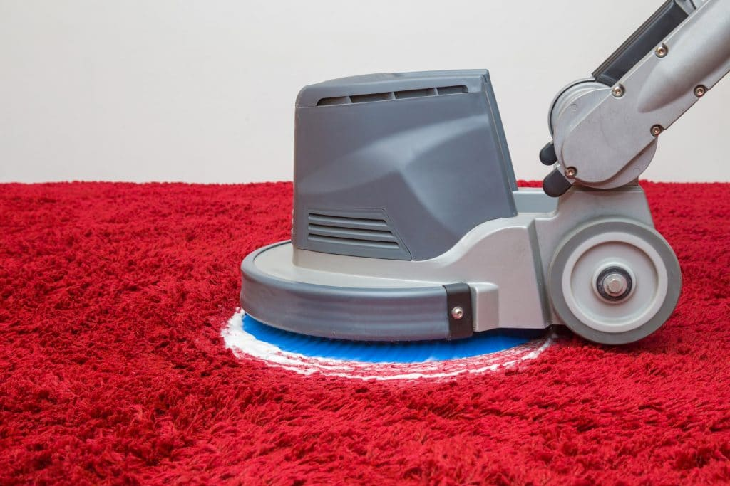 carpet cleaning tools and vacuum cleaner